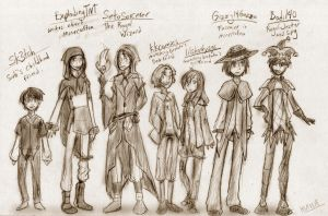 MineCraft Kingdoms AU - More Characters by NinjaNekoAru