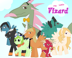 My Little Vizard by 2strange4urowngood
