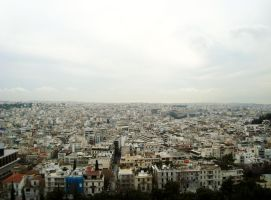 Athens from the Acropolis by theinkblot