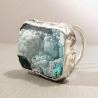 Dream clouds - Gem Silica ring by Jealousydesign