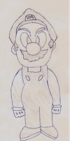 Mario sketch by gekkostate77