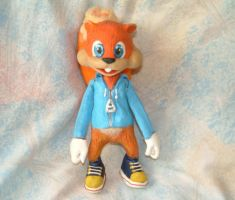 Conker the squirrel by Raitei