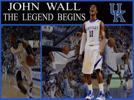 John Wall-The Legend Begins by ForeverBigBlue68