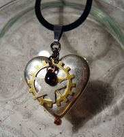 Chrome Plated Heart 01 by alice-day