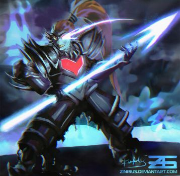 Undertale - Undyne The Undying by Zinrius
