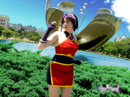 Athena Asamiya 2001 Cosplay -1- by Blueblood2
