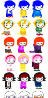 Mobiustuck Sprite Sheet by StarXrossed
