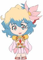 Chibi: Nia Teppelin by animereviewguy