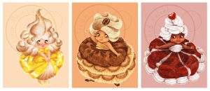 Cake girls by littlecrow