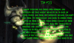 Midna's Tips 23: Haters by MidnaCookies1425