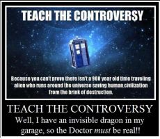 Teach The Controversy. by Biggerontheinside10