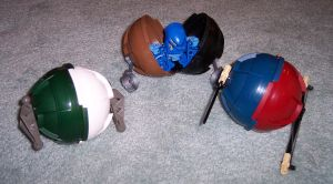 Matoran Assault Pods by Seconds-Design