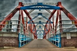 Detroit Bridge by AndreiaMoutinho