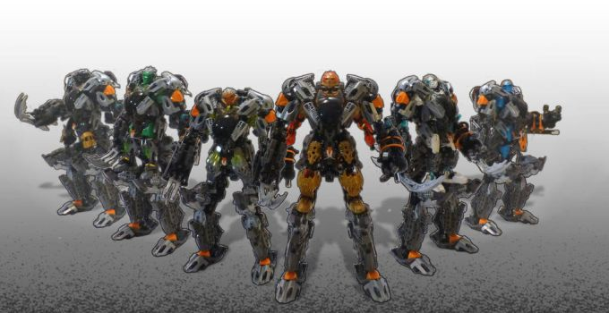 Exo-Toa Team by Teridax467