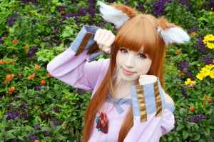 Horo Cosplay - Gotta be cute sometimes by Natsumi-angel