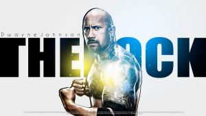 The Rock Wallpaper by findmyart