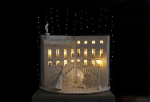 The Little match girl Book Sculpture... by AnemyaPhotoCreations