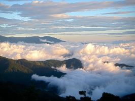 Above the Clouds by IndianaBlue