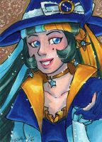 ACEO Witchy Sagitta by nickyflamingo