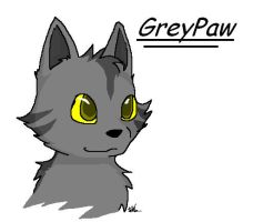 Greypaw by Starheart19