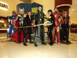 The Avengers by RinaMx