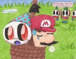 R Doopliss and Mario by Chenanigans