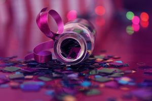 Colorful Confetti 2 by Minicorndogs