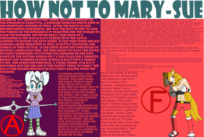 How not to Mary-Sue (Read the description) by zerotolorance