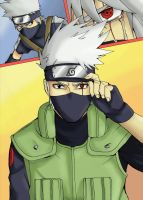 Hatake Kakashi by TheFresco
