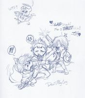 DMC chibis discovery by BlackHime