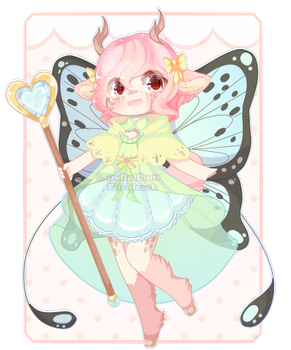 Set Price :: Fairy Deer [ Closed ] by Devi-Adopts