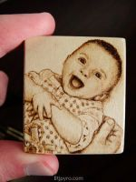 Baby picture - Mini Woodburning by brandojones