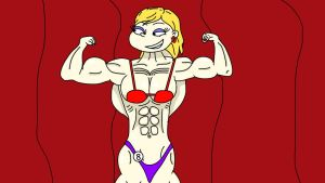 Request: Angelica the bodybuilder page 12 by mud666