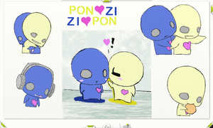 Pon and Zi Collage by FizzyLuvsU