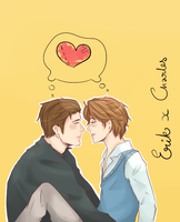 Erik x Charles by cloud-walkerxx