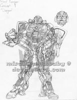-WIP- Transformers: Dragan 1 by miraibaby