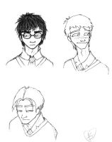 Harry Potter Guys by AllisonSmith