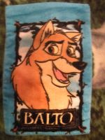 Balto Washcloth: Balto's Side by CanineCanvas