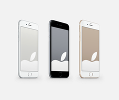 Apple-Wallpapers Optimised for iPhone 6 and 6 Plus by kiwimanjaro