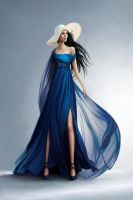 The Silver Eye - Melete in the Blue Gown by lostie815