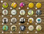 Buttons series I by MaComiX
