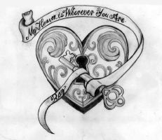 Heart Tattoo by MP3Designs
