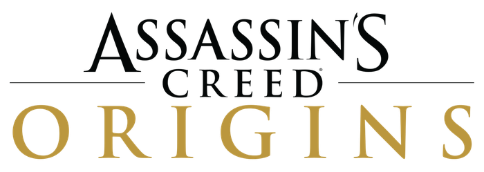 Assassin's Creed Origins Logo Text PNG Official by irakli008