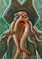 Davy Jones by danidraws
