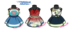 DMMD Pinafore Designs by Tsukahime