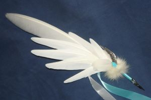 Relic of Archangels II - handmade Featherquill by Ganjamira