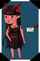 OPEN- Rockabilly Devil Girl [Discounted!] by OstendorfsAdopts