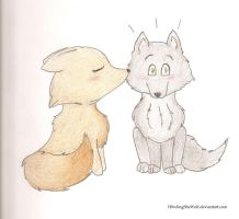 Puppy Love by H0wlingSheWolf