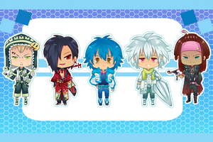 DRAMAtical chibi's by antique-teacup