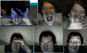 Fun Times on Skype Vid Chat by Kdogfour